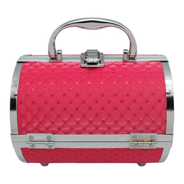 Image of   AVERY® Smykkeskrin / Beauty boks i aluminium, pink