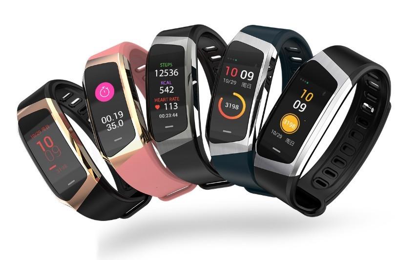 Image of   Aktivitetsarmbånd - Ur med blodtryksmåler | Fitness Tracker