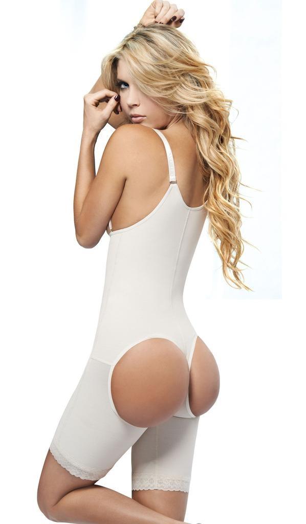 Image of   AVA® Shapewear Bodysuit Open Bust Butt lifter model 7099