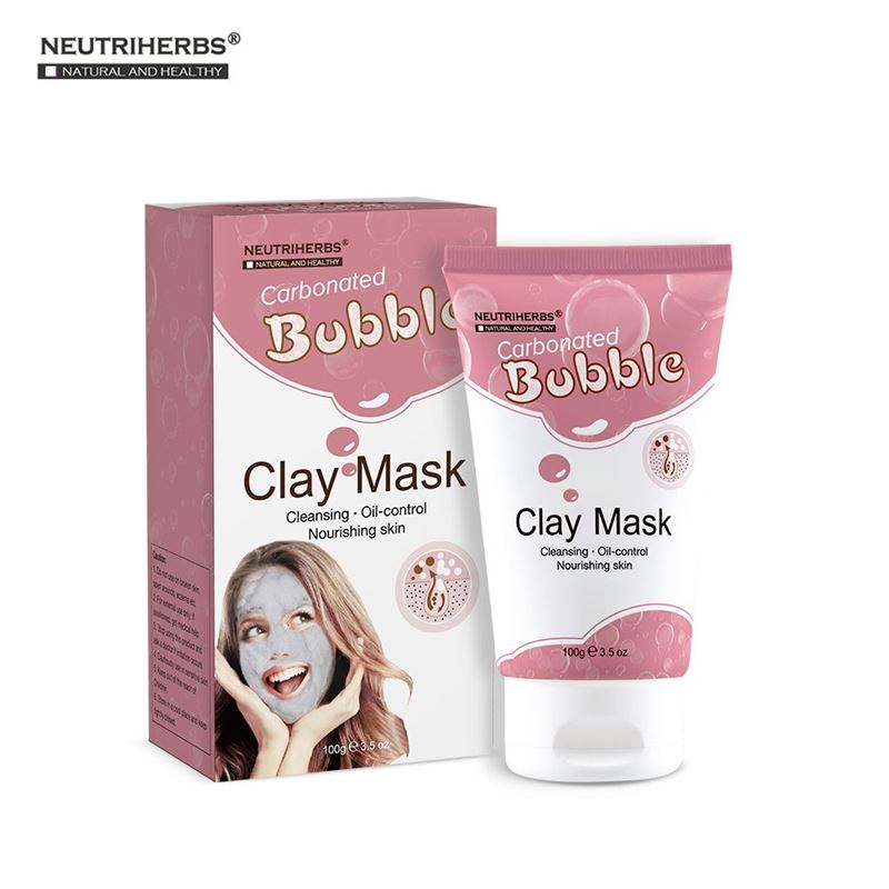Image of   Nutriherbs Bubble Mask - Carbonated Bubble Clay Mask