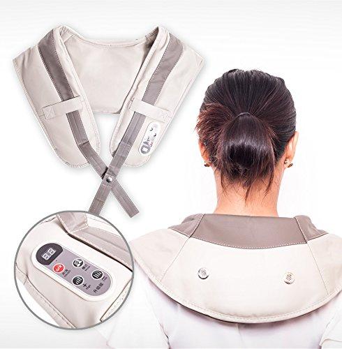 Image of   PRO Shiatsu Nakke & Skulder massage krave / Skuldermassage Massagebælte