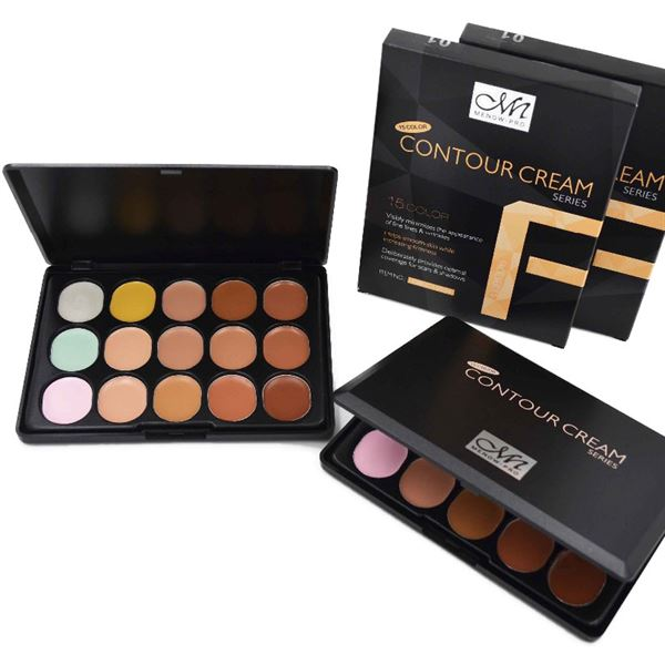 Image of   MeNow® Contour Kit Pro Palette Kit - 15 farver