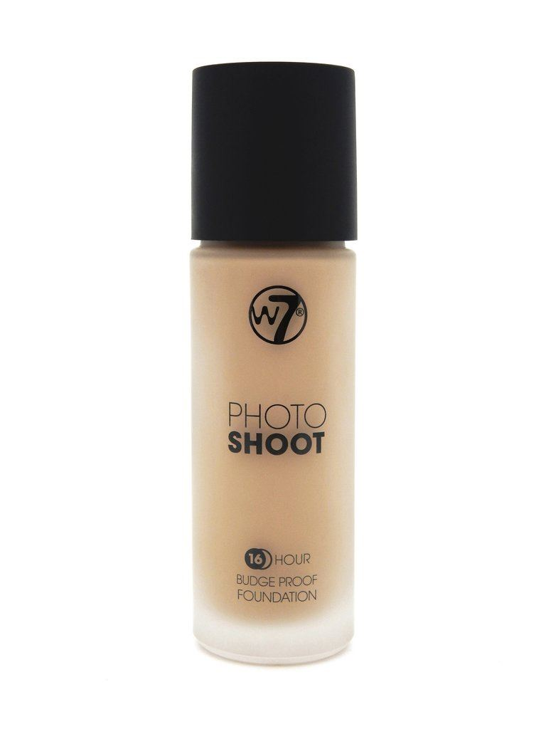 Image of   W7 Photo Shoot Foundation Sand Beige