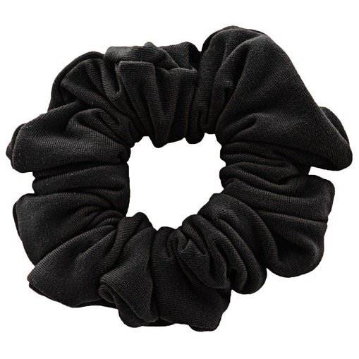 Image of   Scrunchie Hårelastik - Sort