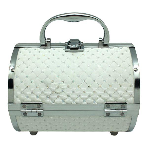 Image of   AVERY® Smykkeskrin / Beauty boks i aluminium, hvid