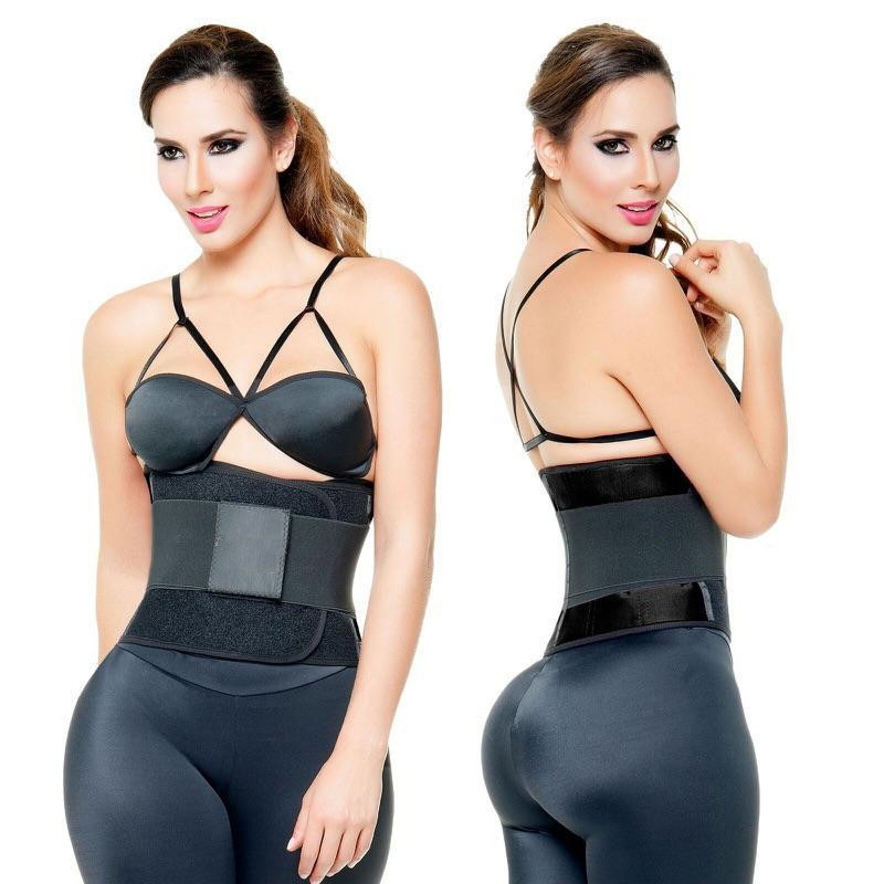 Image of   Ava® Velcro Waist Trainer Belt, sort