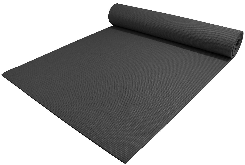 Træningsmåtte / Yogamåtte - sort