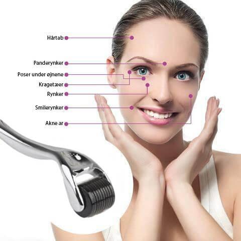 Virkning ved brug af UNIQ Skinroller.